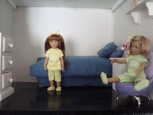Les toilettes de Gretchen et Finchen
