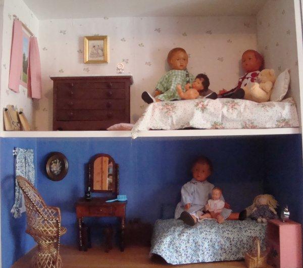 Les poupées et les doudous de mes poupées !