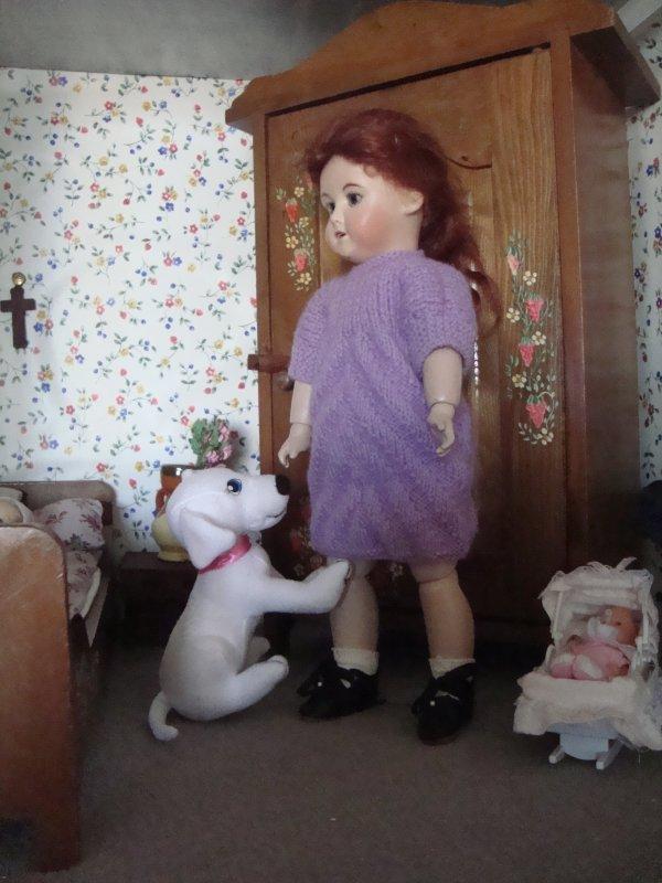 Le petit chien de Bleuette