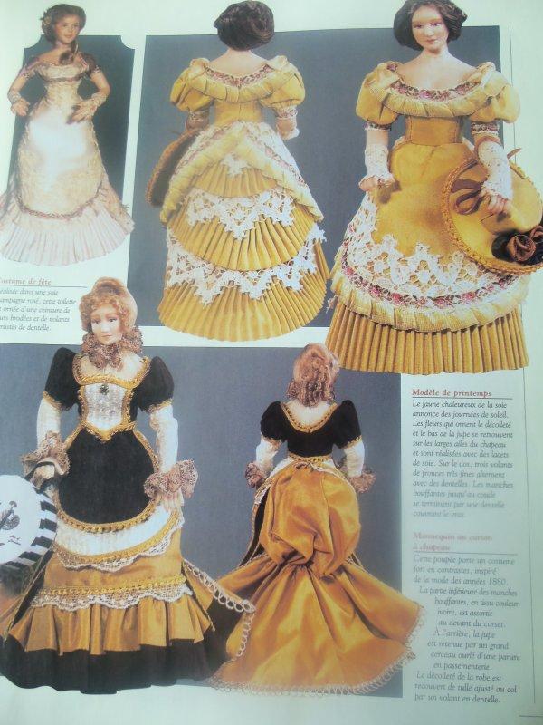 La mode du XVIII° siècle et la mode en 1880