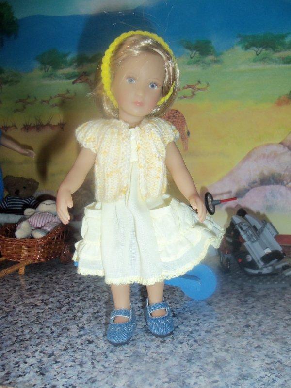 Le petit gilet jaune pour Gretchen