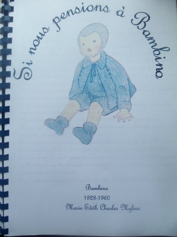"Une barboteuse pour Bambino ""Eté 1934"""