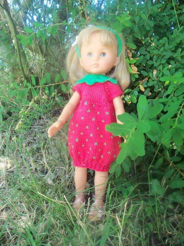 La robe fraise