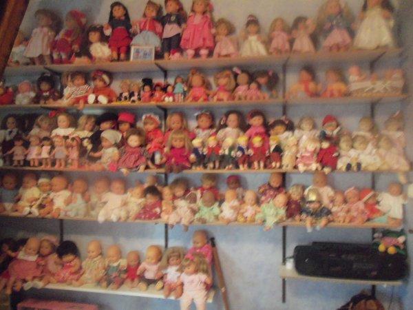 Rangement dans la chambre des poupées !