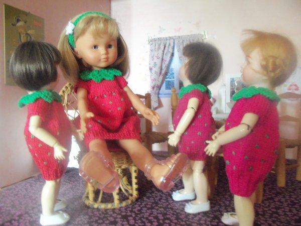 """La robe """"Fraise"""" pour les Loulotte !"""