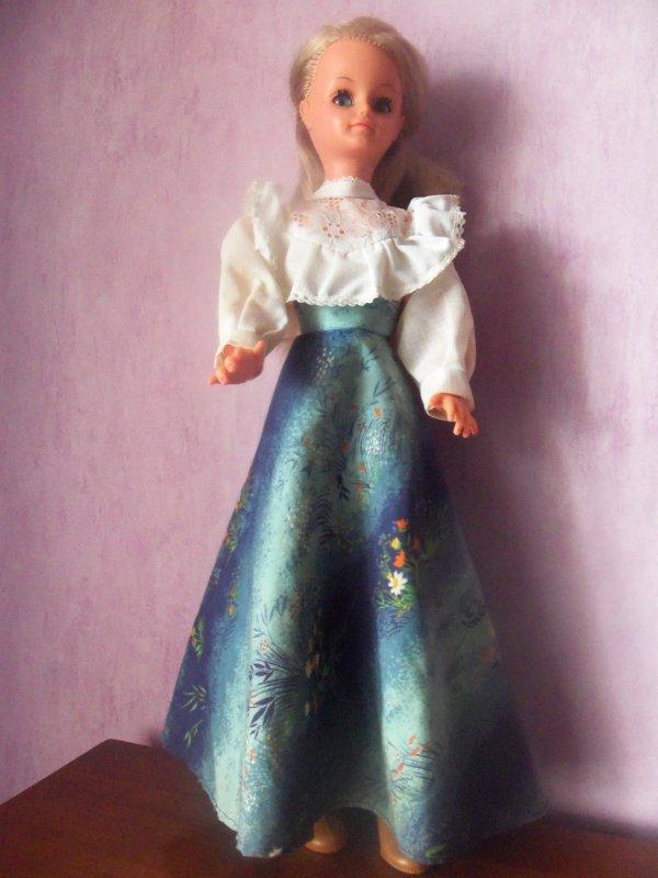 La robe de présentation de 1976
