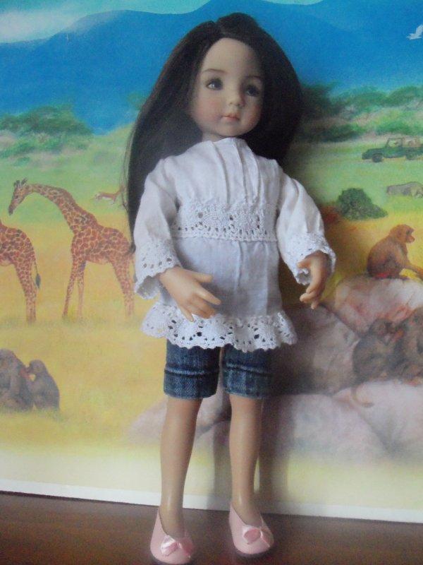 Des tenues d'été pour Tiffany