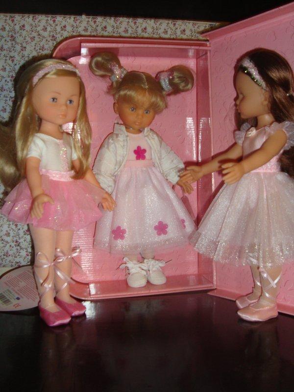 Mes petites ballerines vous souhaitent un très bon dimanche !