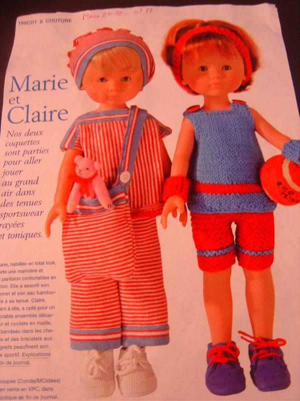 Des modèles Marie-Claire Idées ............