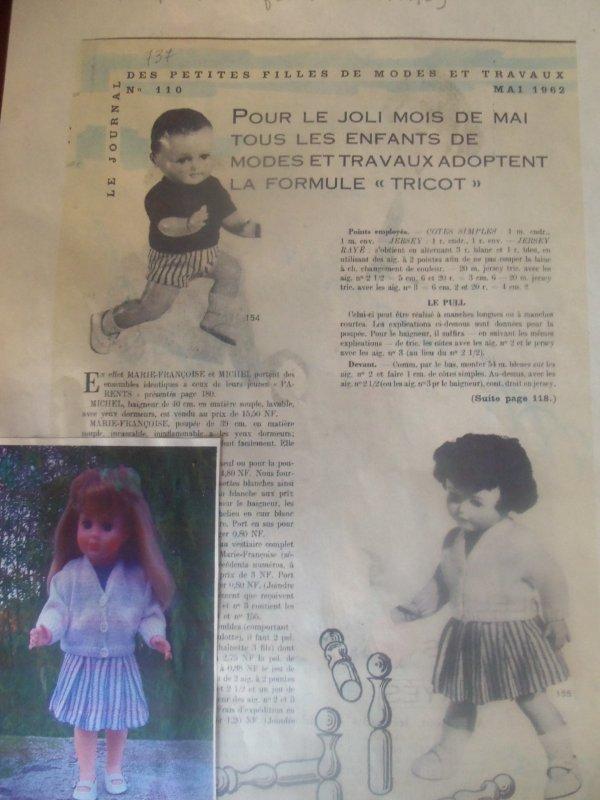 Une tenue pour Michel de Mai 1968