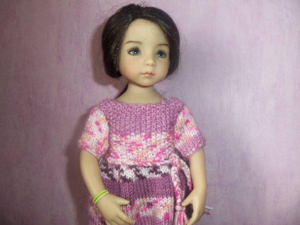 Une robe en laine pour Tiffany