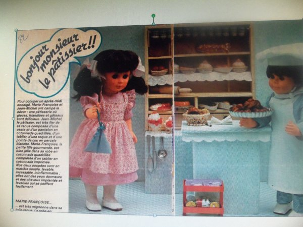 La robe de Janvier 1982
