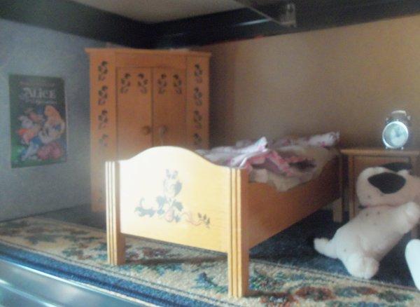 La nouvelle chambre des Minouche !