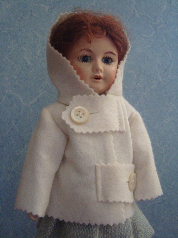 Un manteau pour Bleuette