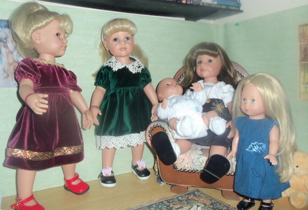 Mes poupées Allemandes !