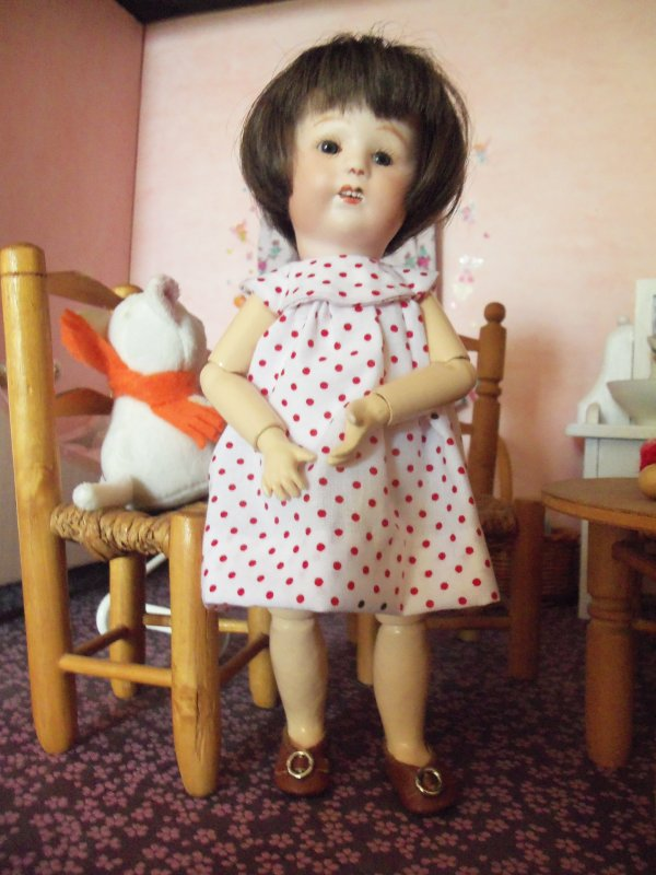 Une nouvelle robe pour Loulotte