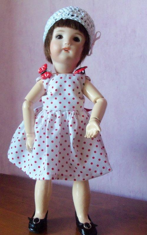 Encore une robe à pois !