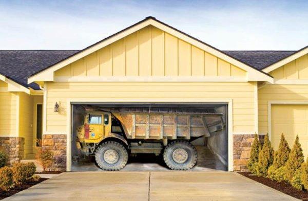 Des portes de garage interessantes !