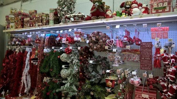 Les magasins à l'heure de Noël