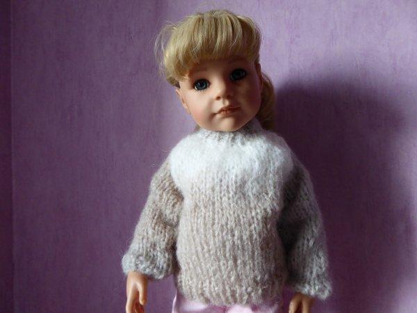 Le pull d'Audrey