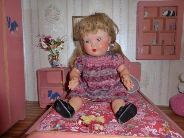 Une robe en laine pour Françoise !