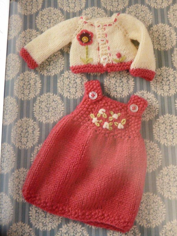 Encore une robe tricotée !