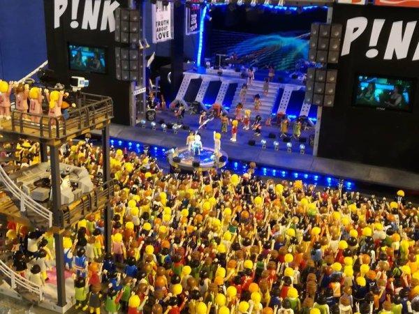 Le concert de Pink