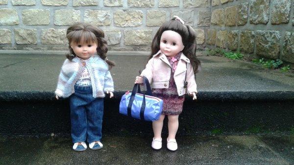 Louise est partie chez sa cousine Alice !