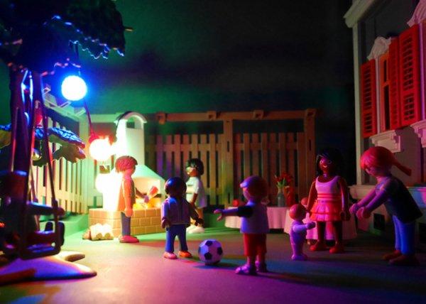 Une nouvelle vitrine Playmobil !