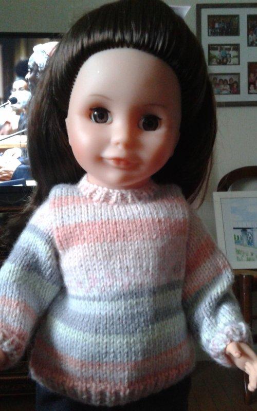 Un nouveau pull pour Louise