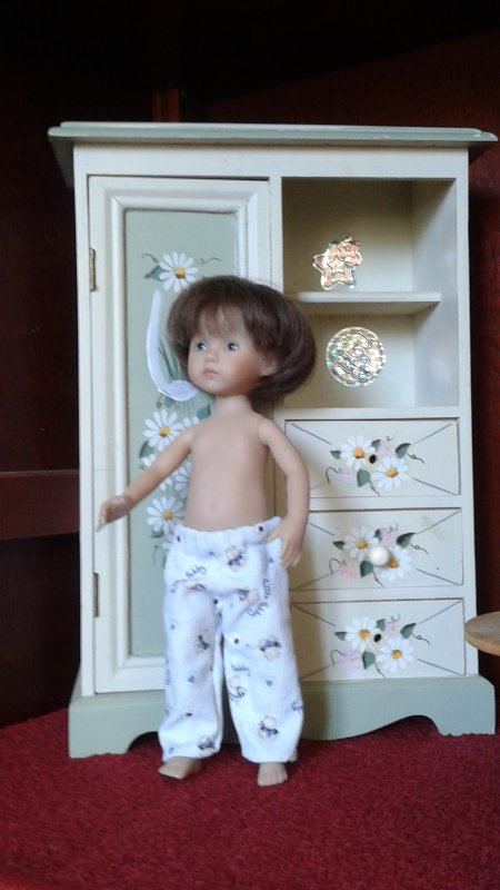 Un pyjama pour Lucas
