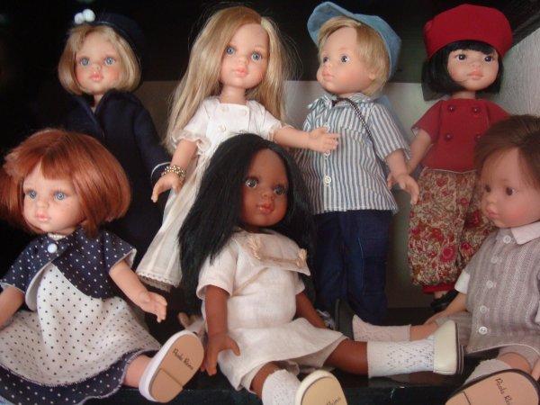 Visite de mes petites filles !