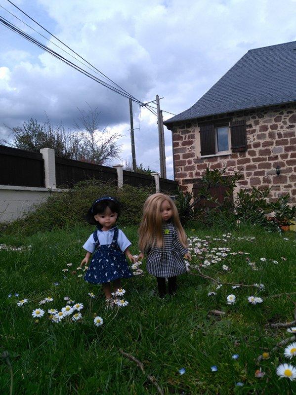 Ann et Liu à la campagne !