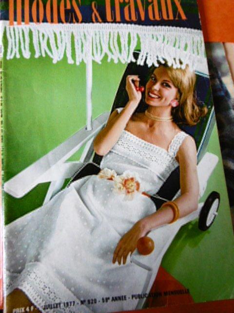 Modes & Travaux de Juillet 1977