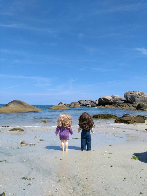 Les vacances en Bretagne !