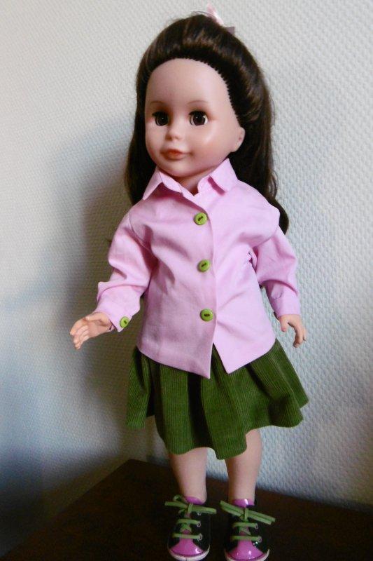 La tenue de Martine pour Louise !