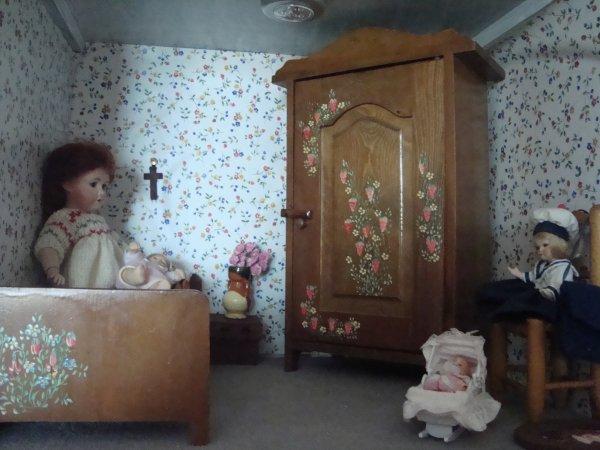 Les chambres de mes demoiselles !