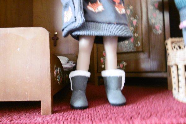 Les nouvelles bottines !