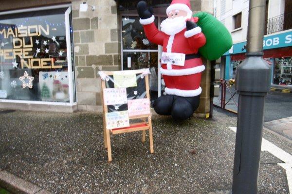 Le magasin du Père Noël !