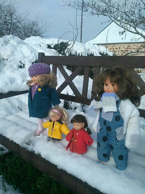 La neige à Mingedeloup !