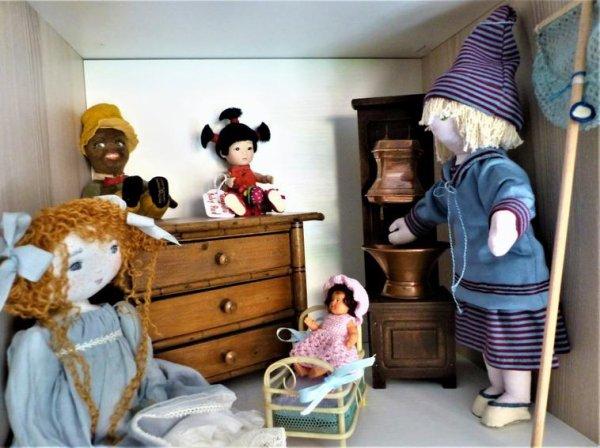 Les poupées de chiffon !
