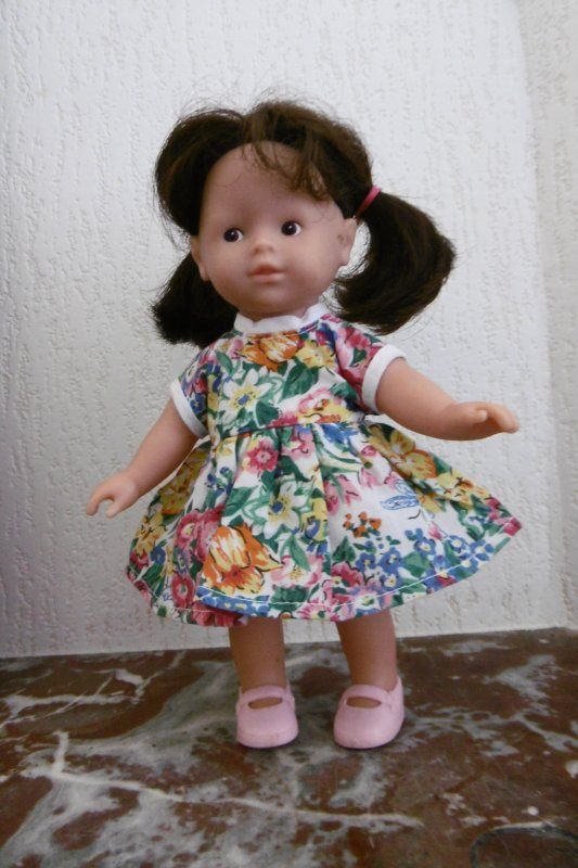 Encore une robe pour Lucie !