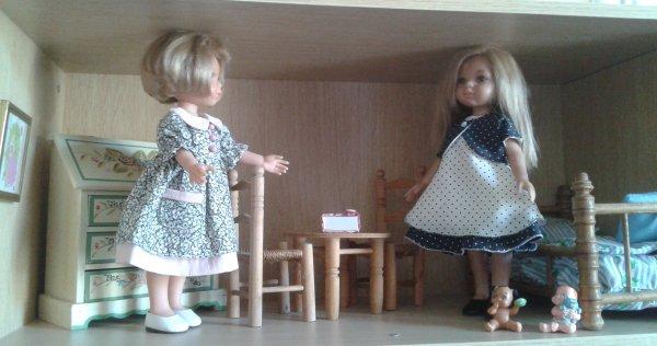 Deux soeurs Carla et Ann !