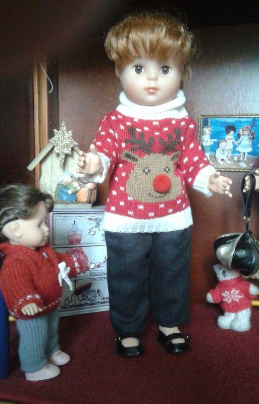 Le pull de Noël !