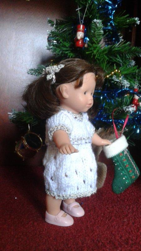 La robe de Noël !