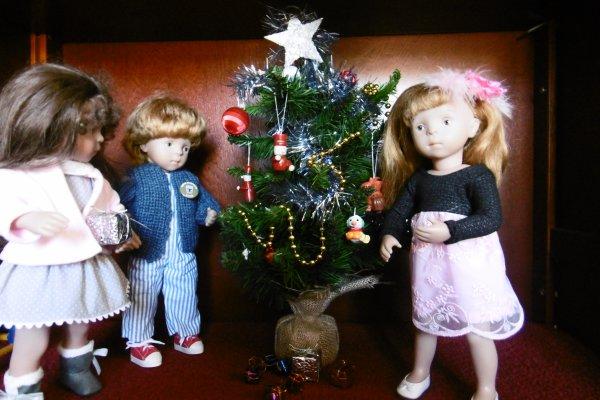Le jour de l'an chez Louise et Elisabeth !