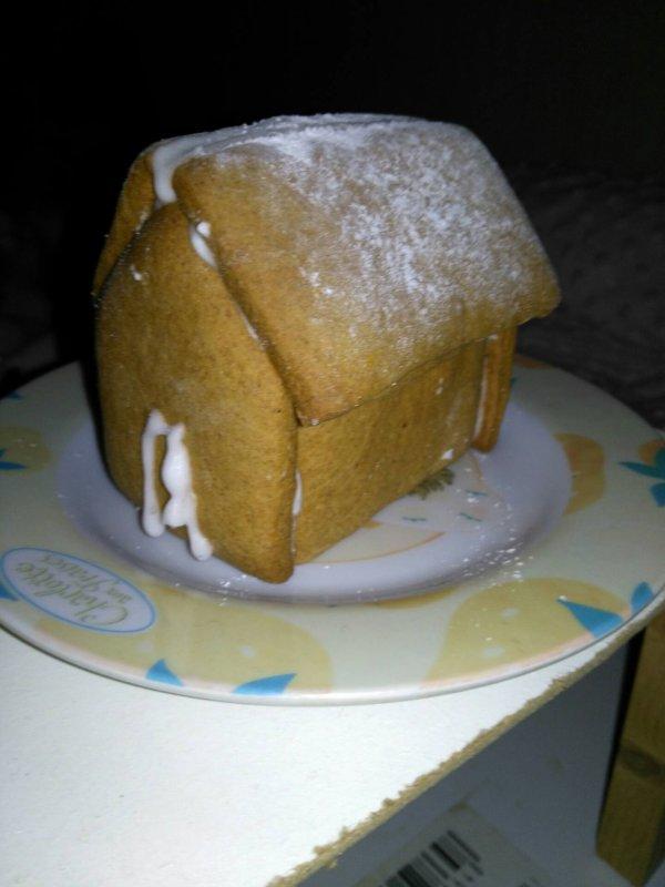 La maison en pain d'épice !