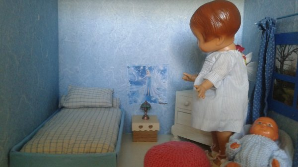 La nouvelle chambre de Patsy