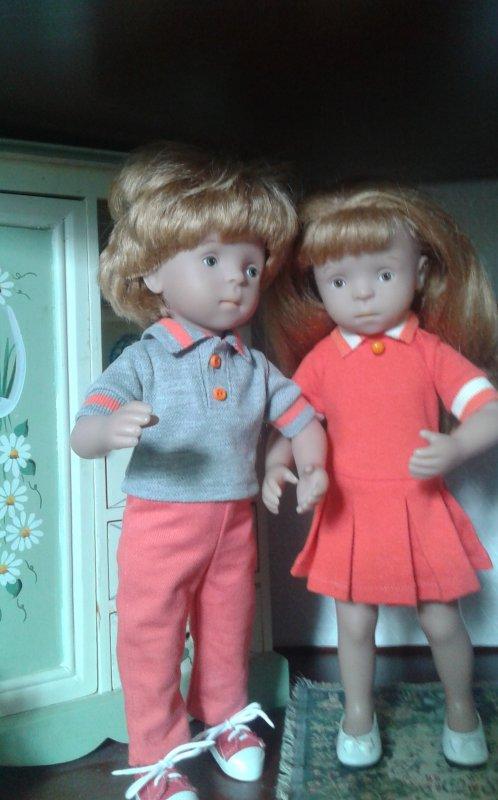 Les nouvelles tenues de Camille et Jeannot !