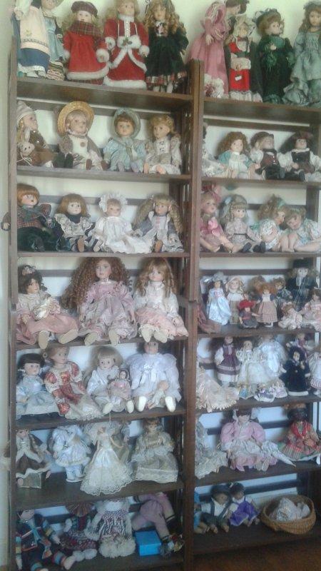 Mon petit bonheur : Mes poupées de porcelaine !